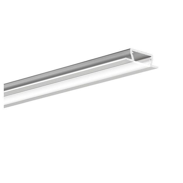 KLUS Micro-NK - LED profiel - 1,3 x 2,22 cm - 200cm lengte - zilver