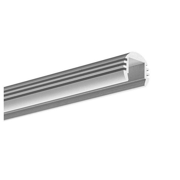 KLUS PDS - O - profiel - Ø 1,85 cm - 200cm lengte - geanodiseerd zilver