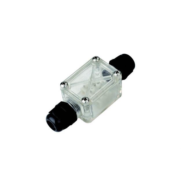Integral LED waterdichte aansluitdoos - 2 wartels - IP67