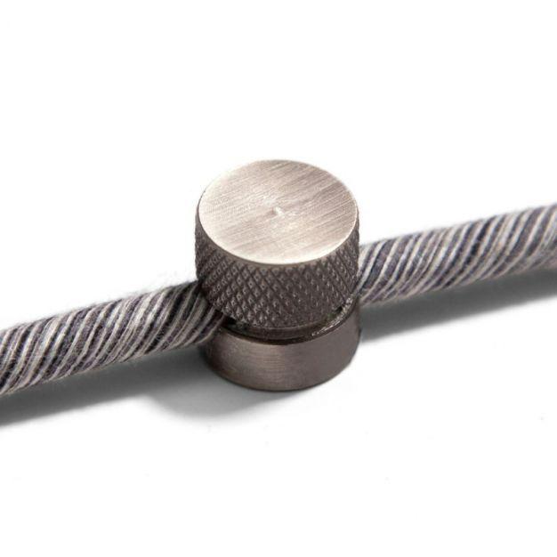 Creative Cables Sarè - metalen plafond/wand bevestigingspunt - ø 1,6 cm - titanium