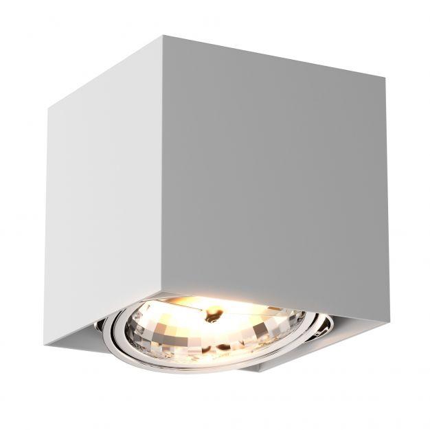 Zuma Line Box SL1 - opbouwspot - 12 x 12 x 12 cm - wit