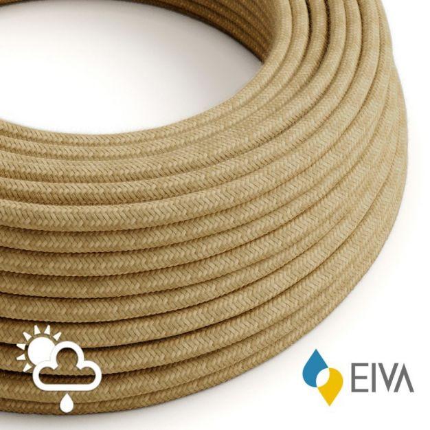 Creative Cables EIVA - textielsnoer - IP65 - per 100 cm - jute