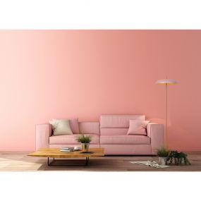 Lucide Elgin - staanlamp - 145 cm - roze en goud
