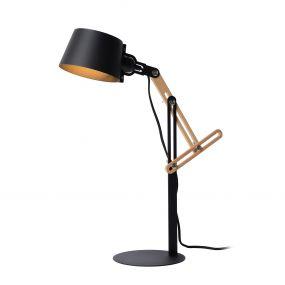 Lucide Kreen - bureaulamp - 46 x 18 x 65 cm - zwart