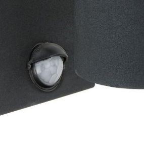Arne wand 2 (met bewegingsdetector) - zwart (einde reeks)