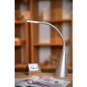 Lucide Goosy - bureaulamp - 50 cm - 4W LED incl. - grijs
