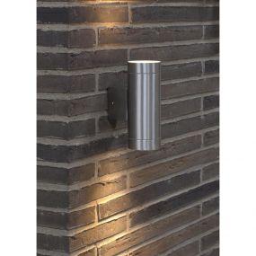 Nordlux Tin Maxi - buiten wandverlichting - 7,6 x 19 x 12,5 cm - IP54 - aluminium