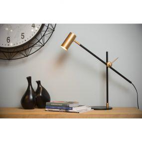 Lucide Philine - bureaulamp - 47 x 47 x 50 cm - zwart
