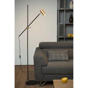 Lucide Philine - staanlamp - 66 x 66 x 165 cm - zwart