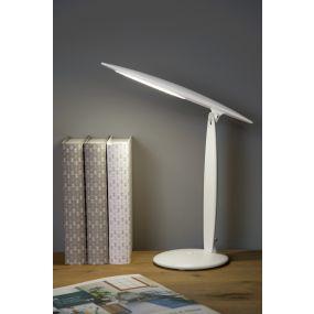 Lucide Jara - bureaulamp - 46 cm - 3,2W LED incl. - wit