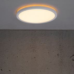 Nordlux Oja - plafondverlichting - Ø 24,4 x 2,3 cm - 15W LED incl. - wit
