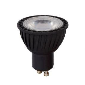 Lichtkoning LED-spot - Ø 5 x 5,5 cm - GU10 - 5W dimbaar - 2700K - zwart