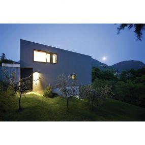 ONE Light Square Indoor/Outdoor Wall Dark Lights - buiten wandverlichting - 20 x 80 x 3,2 cm - 6W LED incl. - IP54 - antraciet