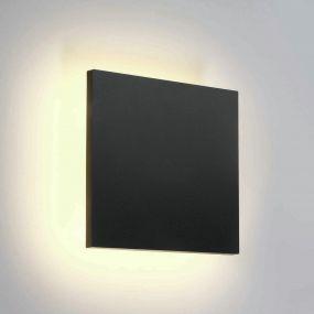 ONE Light Backlight Range - buiten plafond/wandverlichting - 15 x 6 x 15 cm - 7W LED incl. - IP54 - antraciet