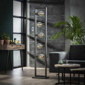 Vico Steps - staanlamp - 165 cm - oud zilver