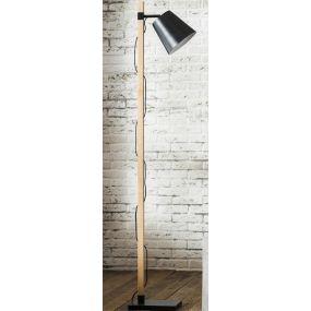 Vico Mioni Pix - vloerlamp - 164 cm - zwart (OP=OP!)