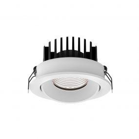 Nova Luce Blade - inbouwspot - Ø 90 mm, Ø 80 mm inbouwmaat - 12W LED incl. - IP65 - wit
