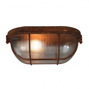 Brilliant Bobbi - plafond/wandverlichting - 28 x 12 x 18 cm - roest