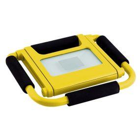 Elmark Work - herlaadbare werklamp - 10W LED incl. - IP44 - geel