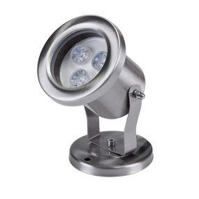 Elmark Underwater - onderwater verlichting - 3W LED incl. - zilver