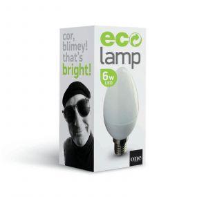 ONE Light Retro LED lamp - Ø 3,7 x 10 cm - E14 - 6W dimbaar - 2700K
