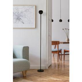 Searchlight Hero - staanlamp - 180 cm - zwart