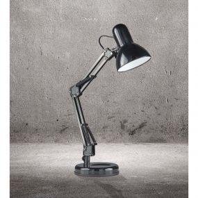 Searchlight Desk Partners - bureaulamp - 52,5 cm - zwart