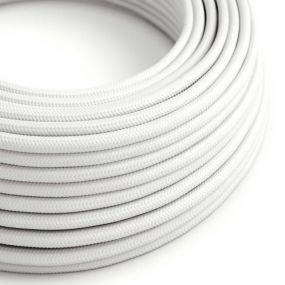 Creative Cables - textielsnoer - per 100 cm - wit