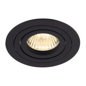 Maxlight Signal I - inbouwspot 1L - Ø 90 mm, Ø 75 mm inbouwmaat - zwart
