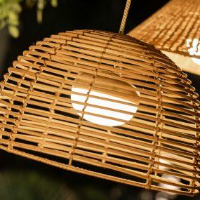 New Garden Cherry - draagbare oplaadbare lichtbron met afstandsbediening - 11 x 9 cm - 8,5W LED incl. - IP54 - wit