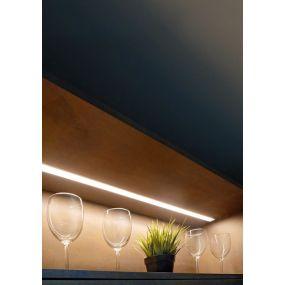 KLUS Micro-NK - LED profiel - 1,3 x 2,22 cm - 200cm lengte - zwart