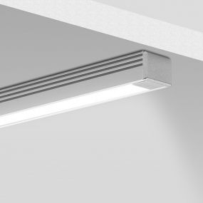 KLUS PDS-4-ALU - LED profiel - 1,3 x 1 cm - 200cm lengte - aluminium