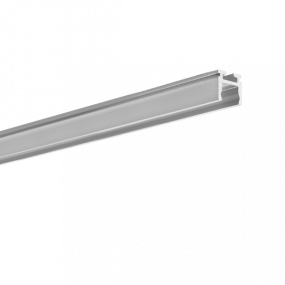 KLUS PIKO-ZM - profiel - 1 x 0,97 cm - 200cm lengte - geanodiseerd zilver
