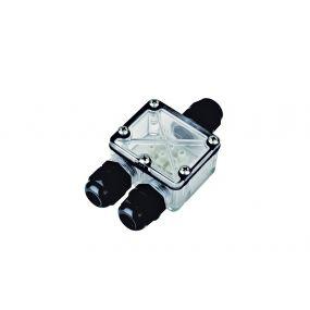 Integral LED waterdichte aansluitdoos - 3 wartels - IP67