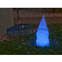 New Garden Amelio - tafellamp op zonne-energie - 41 x 19 x 18 cm - wit