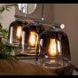 Vico Grey Shade - hanglamp - 97 x 23 x 150